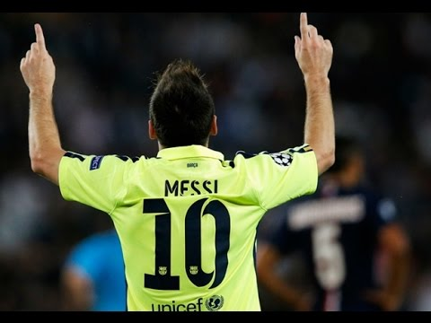 Messi beats Ronaldo to equal Raul's Champions League goal record