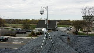GoPro Time Lapse: Hikvision DS-2DF7286-AEL Speed Dome & Ubiquiti Wireless Install by Intellibeam.com