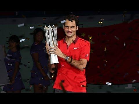 Shanghai Master 2014 Semifinal Roger Federer vs Novak Djokovic Highlights