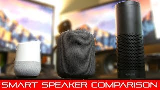 Ultimate Smart Speaker Comparison (2018)