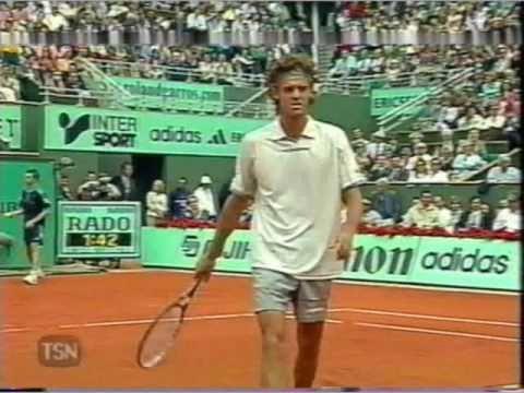 Kuerten vs フェレーロ 2001 全仏オープン pt.7 of 7