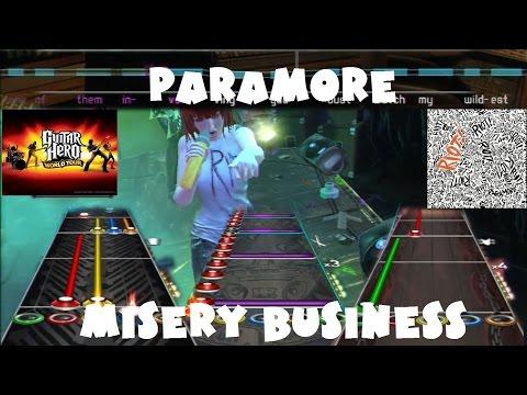Paramore - Misery Business - @GuitarHero World Tour Expert Full Band