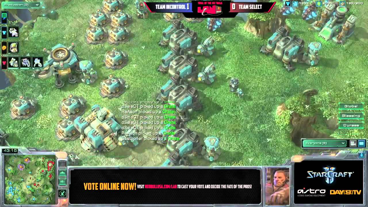 Team iNcontrol vs Team SeleCT G2 Red Bull Seattle Round of 8 Match C