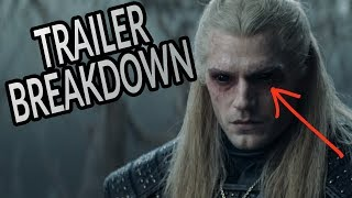 THE WITCHER Trailer Breakdown, Easter Eggs & Details You Missed!