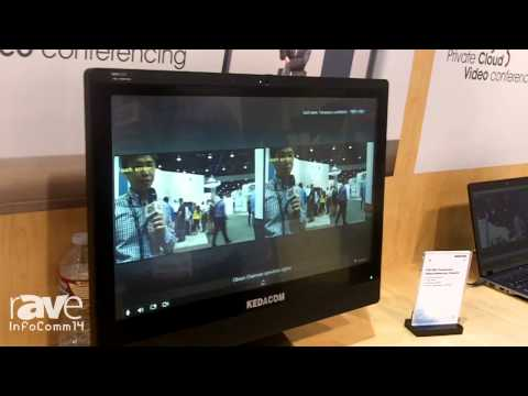 InfoComm 2014: Kedacom Introduces Its KDV1000 Touchscreen Videoconferencing Endpoint