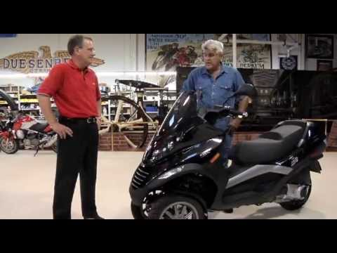 Piaggio MP3 250 - Jay Leno's Garage