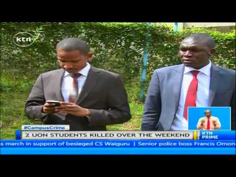 Two University of Nairobi students killed following allegations of theft in hostels