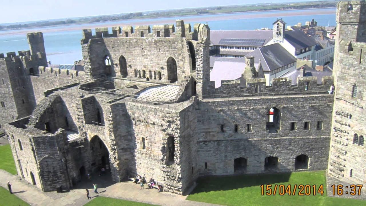 Caernarfon Castle. Замок Карнарвон - YouTube