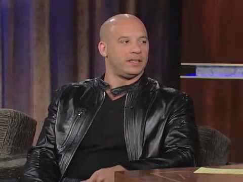 Vin Diesel Talks About Working Out Lightbulbs and Actings