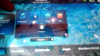 RESEA BLACKBERRY PLAYBOOK EN ESPAOL