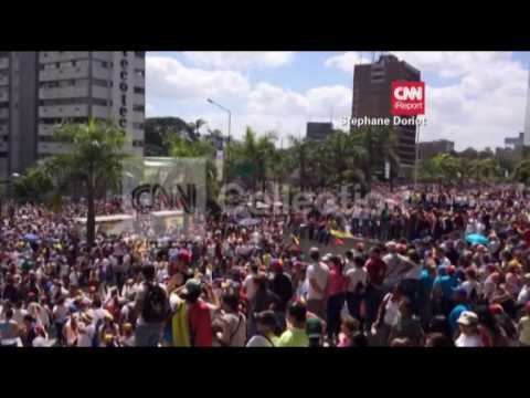 VENEZUELA:LESS VIOLENT PROTESTS THIS WEEKEND
