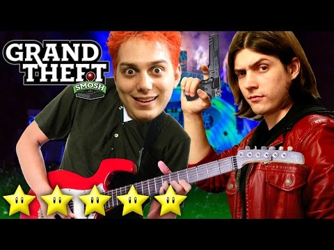 Five Star Rock Stars (grand Theft Smosh) video