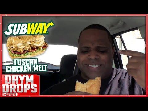 Subway Tuscan Chicken Melt