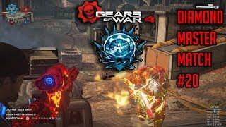 Ranked Diamond Master Escalation Match #20   Gears Of War 4 Multiplayer Gameplay