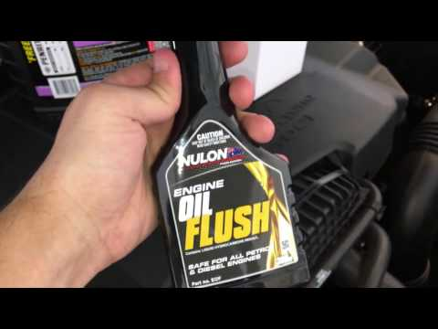 How to use an Oil Flush Additive