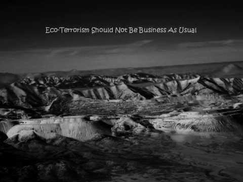 Re-Defining Eco-Terrorism