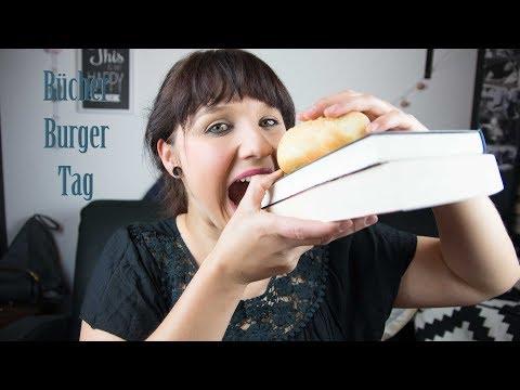 Bücher Burger Tag
