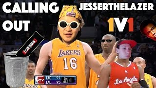 CALLING OUT JESSERTHELAZER 1V1 BucketSquad VS  TrashbinSquad