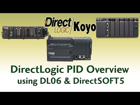 PID Overview - PID loop using DL06 & DirectSOFT5