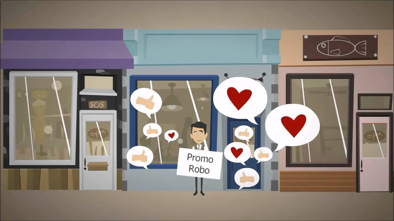 Рекламные роботы - Гефест Проекция