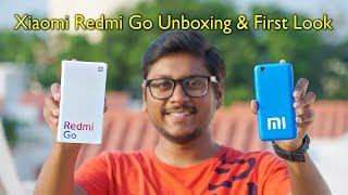 Redmi Go Unboxing & First Look India...