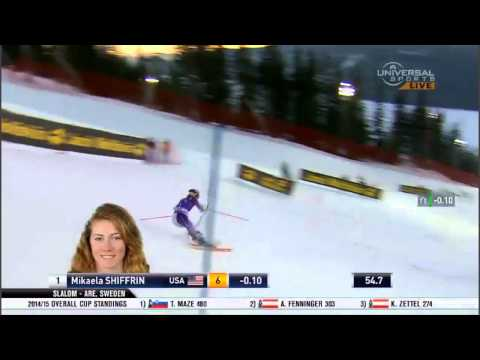 Mikaela Shiffrin - 4th Place - Slalom - ARE Sweden