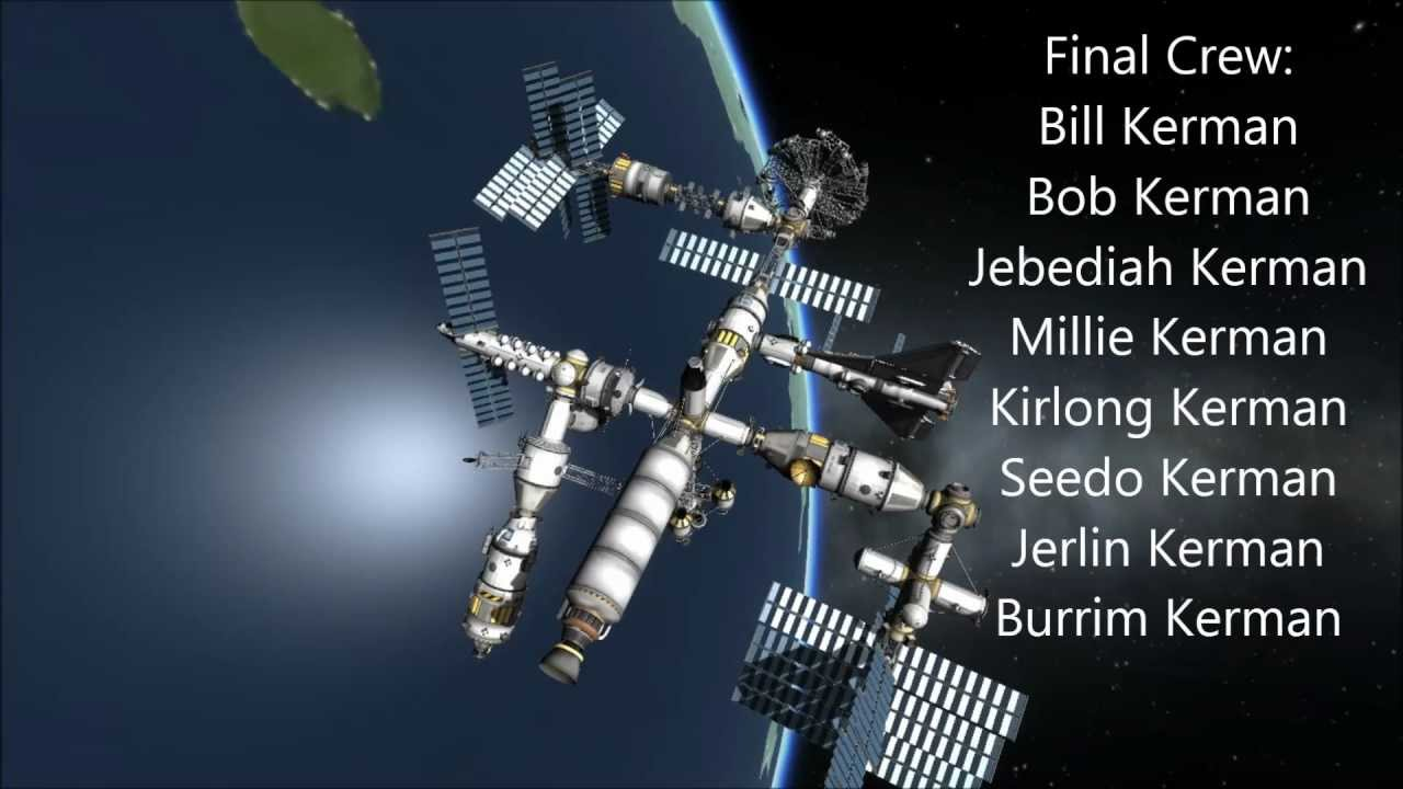 kerbal space station build - photo #9