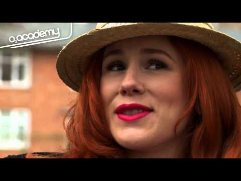 Katy B goes punting in Oxford