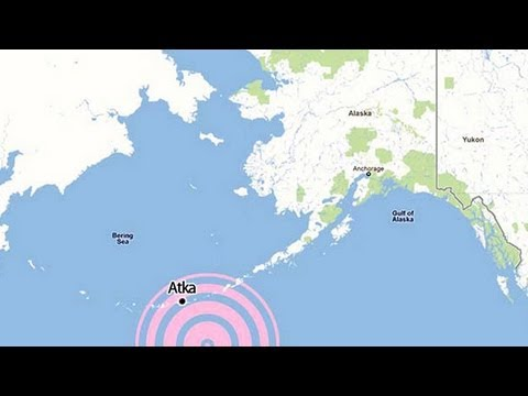 Major Quake Shakes Aleutian Islands Off Alaskan Coast