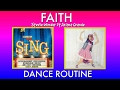 FAITH Stevie Wonder ft. Ariana Grande - EASY DANCE ROUTINE from SING