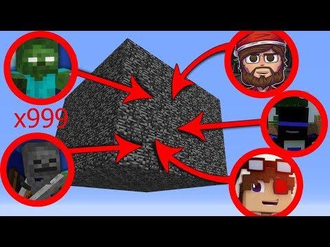 ВЫЖИВАНИЕ В КОРОБКЕ ИЗ БЕДРОКА В МАЙНКРАФТЕ! СЛОЖНОЕ ИСПЫТАНИЕ! Minecraft Survive in box