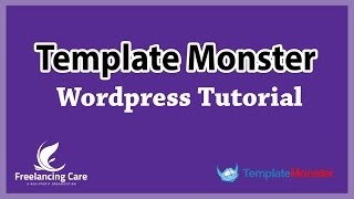 Templatemonster Wordpress Template - Make a website in 10 minutes [Bangla]