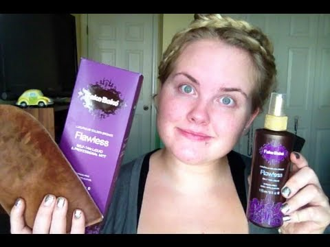 Self Tanner Review Fake Bake On pale skin