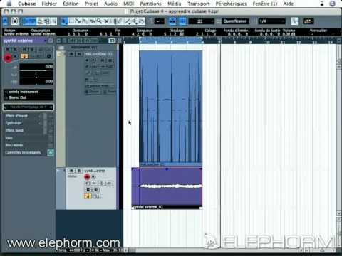 Steinberg Cubase 4 Studio et les instruments MIDI externes