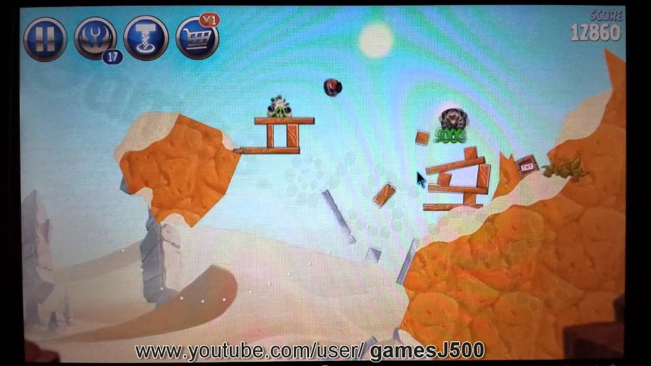 Angry Birds Star Wars 2 B2-6 Escape to Tatooine ...