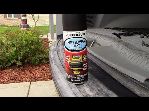 Rust-Oleum Trim and Bumper Paint Review