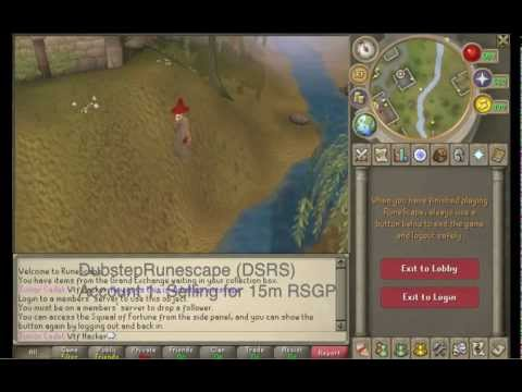 (runescape) For Sale- Level 36 - 62 Mage+range-level 53 - Hybrid-level 87 Main video