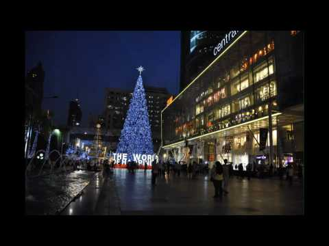 Central World during Christmas Time – Bangkok Thailand Time Lapse Photography
