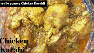 Chicken Karahi || Simple, Super Fast, Easy and Yummy Recipe in urdu - SaE