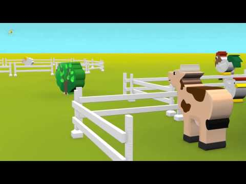 Как говорят животные  Развивающий мультфильм для детей  Учим голоса и звуки животных  Развитие речи