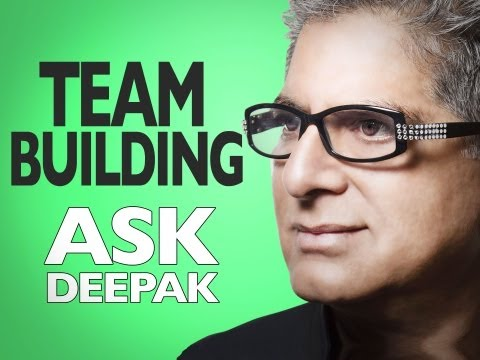 What is the secret of team building? | ASK DEEPAK!