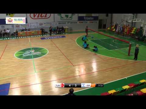 21 Turkey   Israel Women 2015 IBSA Goalball European Championships Lithuania