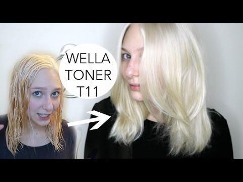 WELLA T11 BLONDE TONER DEMO