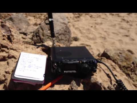 2012w olympics from wales radio,  Radio Ham,  QRP Portable on Yeasu FT-817