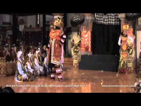 Bali Art Festival 2011-cupak Drama Part 1.m4v video