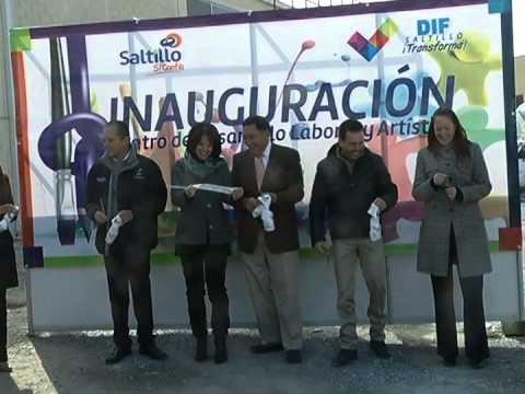 Inauguran centro de desarrollo laboral y artístico en el DIF Saltillo