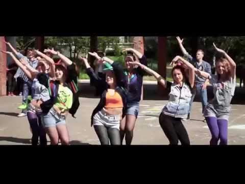 Школа 107 Выпуск 2016 - Флешмоб