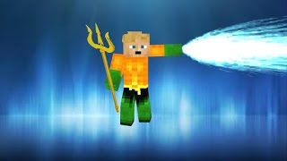 Aquaman in vanilla Minecraft | ONLY ONE COMMAND BLOCK (1.8)