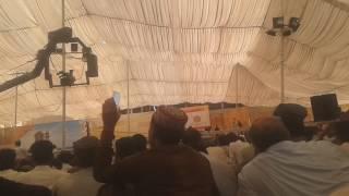 Sultan Ahmad Ali Sahib addressing latest speech 30th September 2016