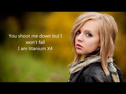 Titanium - David Guetta Feat Sia By Madilyn Bailey Lyrics video
